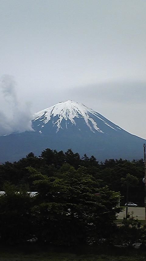 ふふふふ富士山。