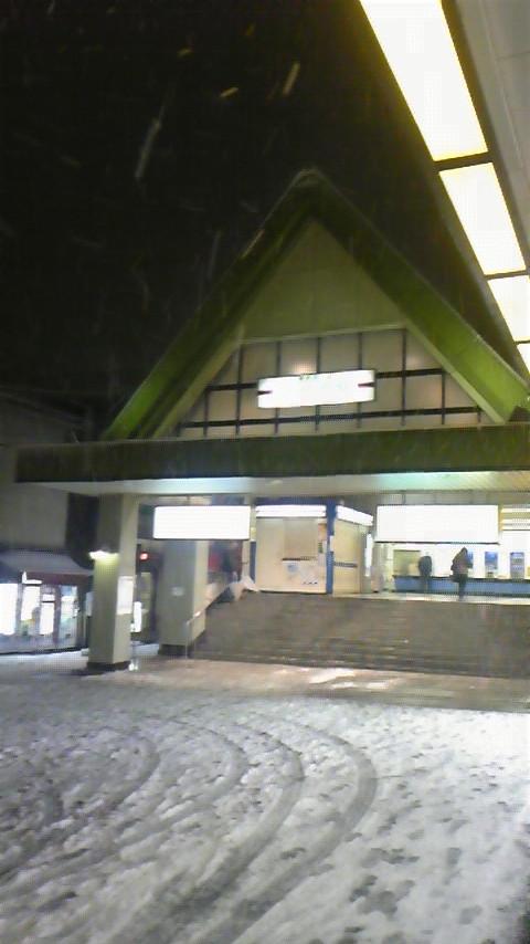 LIVE!小江戸に雪が降る…。